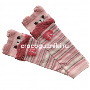 Гетры детские Animal Kids (one size/ 0-3 г) Киска