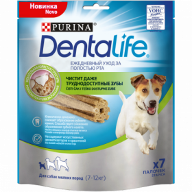 Purina DentaLife Лакомства для собак мелких пород, 115г