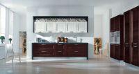 Кухня Альба Венге с колонками