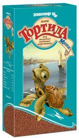 Зоомир Тортила Мини Гранулированный корм для молодых водяных черепах, 90 гр