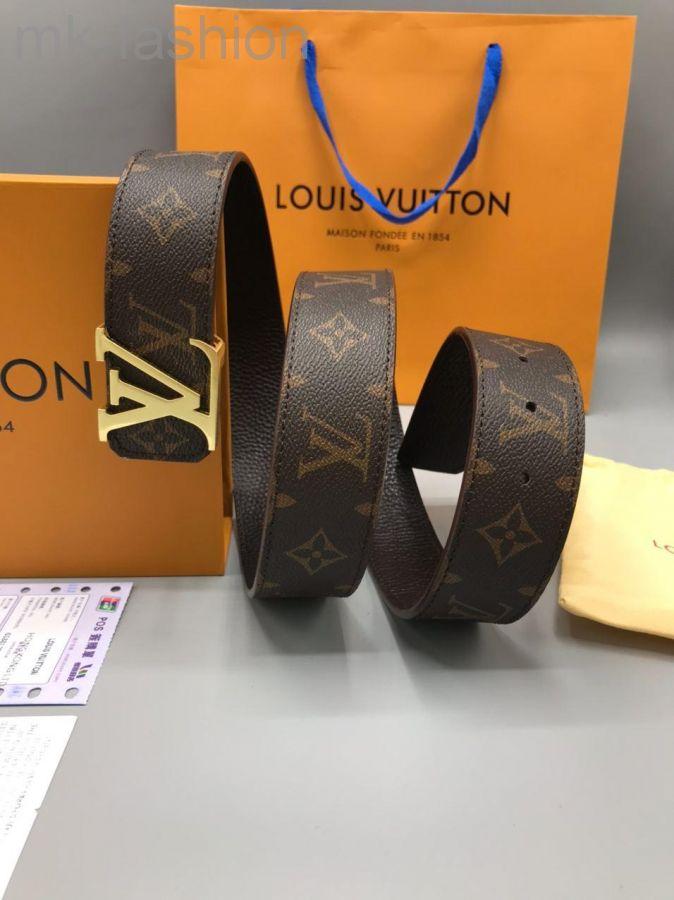 Ремень Louis Vuitton Монограмма