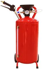 Пеногенераторы TOR  Бак металлический красный. Объем бака - 50 л; максимальное рабочее давление - 8 бар