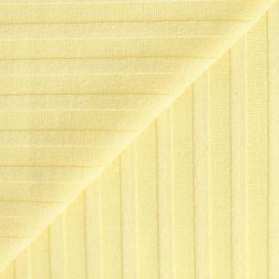 Лоскут трикотажной ткани лапша Лимонный 50х30