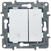 Светорегулятор нажимной (диммер) 400Вт - белый, Legrand Etika