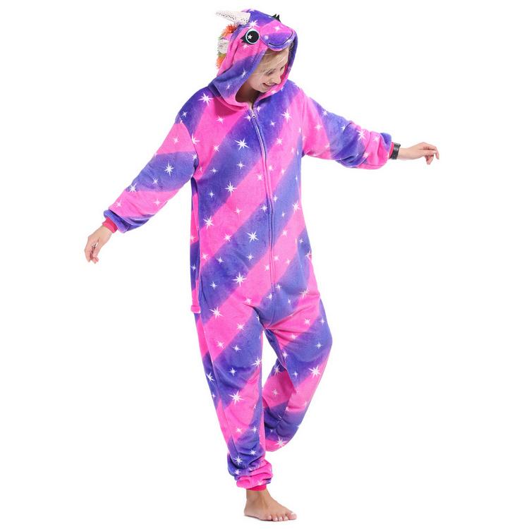 Пижама Кигуруми Единорог Млечный Путь