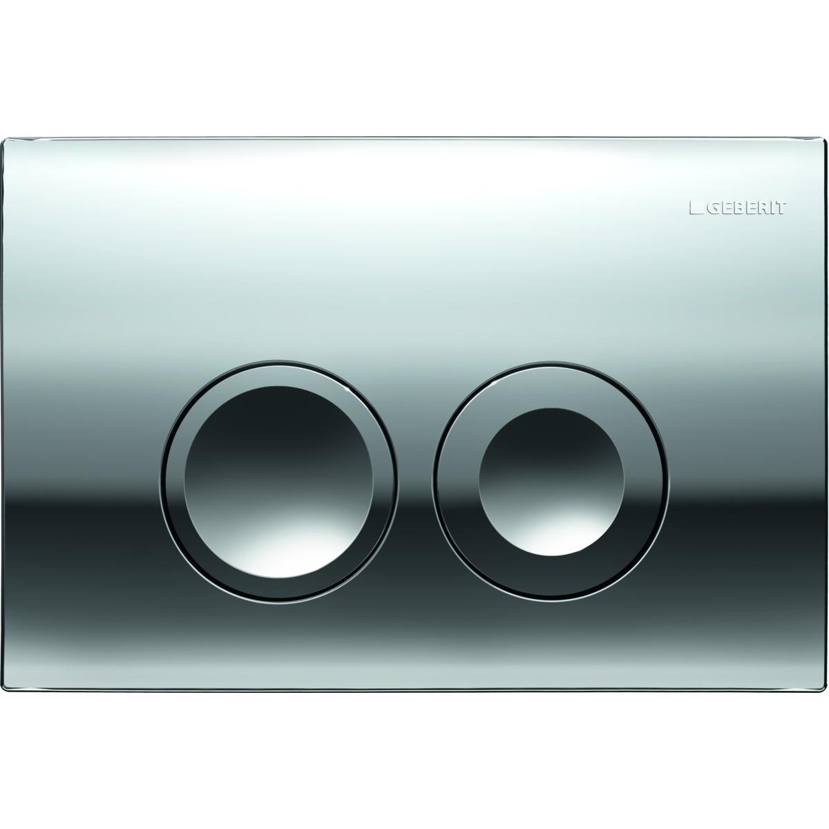 Кнопка смыва GEBERIT 115.125.21.1 Delta 21 (пластик/хром)