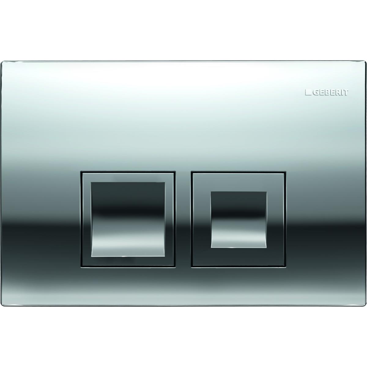 Кнопка смыва GEBERIT 115.135.21.1 Delta 50 пластик (хром)