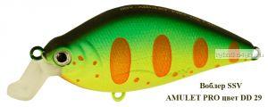 Воблер Silver Stream Amulet Pro 60F 60 мм / 10 гр / Заглубление: 0 - 1,2 м / цвет: DD-29