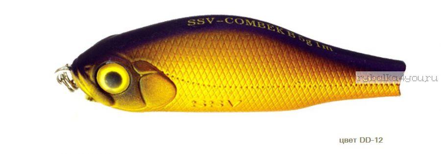 Воблер Silver Stream Combek B 50F 50 мм / 4 гр / Заглубление: 0,4 - 1 м / цвет: DD-12