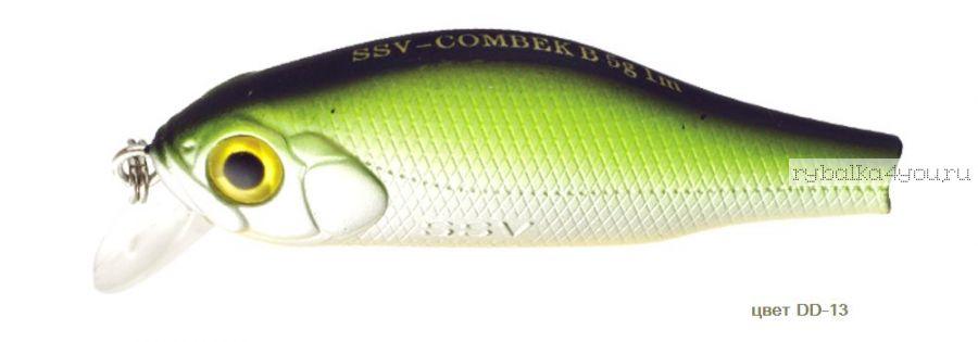 Воблер Silver Stream Combek B 50F 50 мм / 4 гр / Заглубление: 0,4 - 1 м / цвет: DD-13