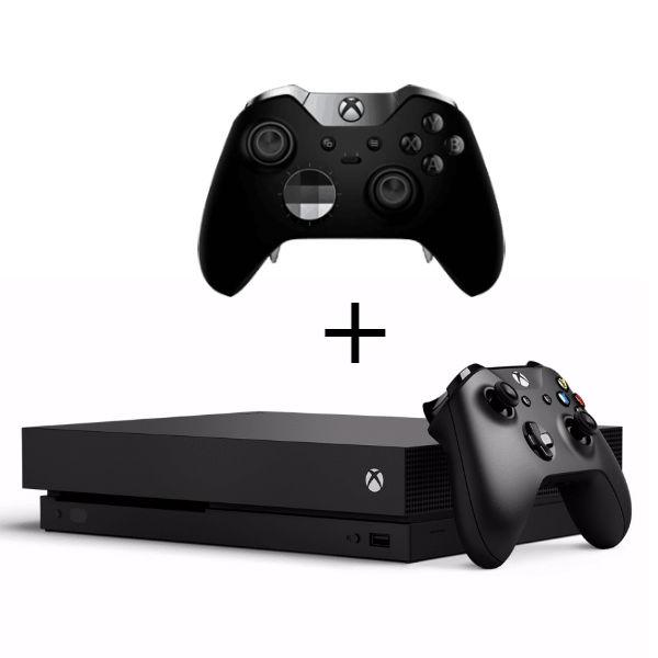 Игровая приставка Microsoft Xbox One X 1 ТБ + Elite Controller