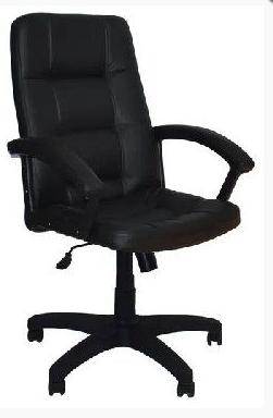 Кресло OFFICE-LAB КР07 / ЭКО1 Черное