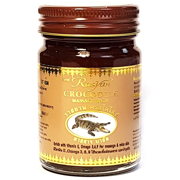 Тайский бальзам крокодиловый Rasyan 50 гр