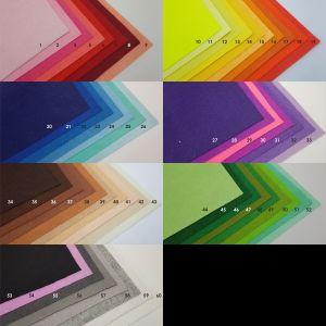 Фетровые пяточки 35мм, с прорезями, цвет № 52 (1 уп = 192 шт)