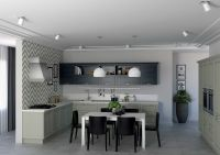 Кухня Манчестер Серый Жемчуг Комби