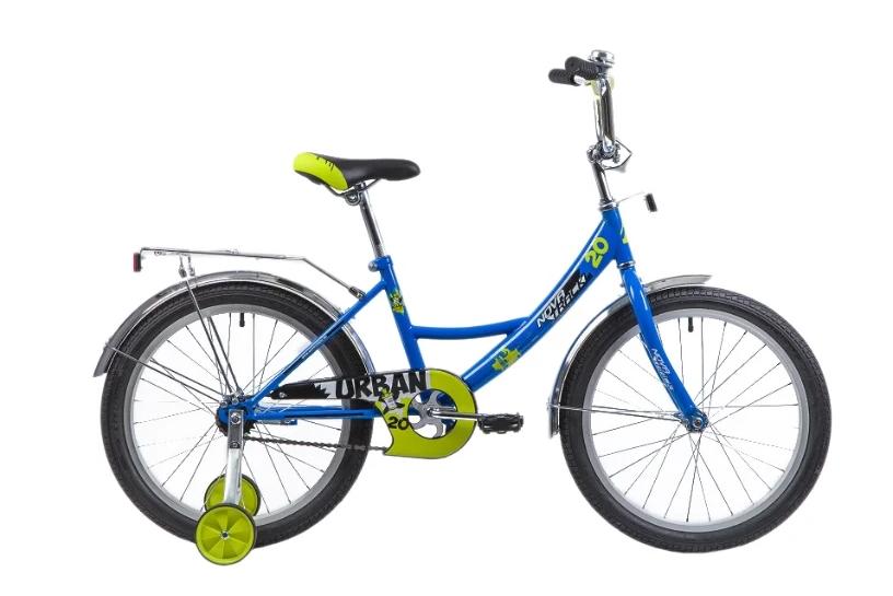 Детский велосипед Novatrack Urban 20 (2019) Синий (133946)