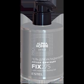 Гель для укладки волос легкая фиксация ESTEL ALPHA HOMME PRO, 275 мл