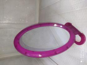 Зеркало овальное пластиковое, 15см (одностороннее)