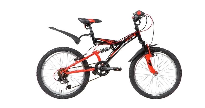 Подростковый горный (MTB) велосипед Novatrack Dart 20 6 (2020) Черный (139722)
