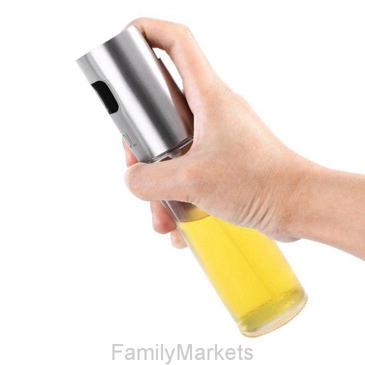 Бутылочка-спрей для масла и уксуса White Plate, 100 мл