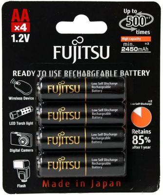 Аккумуляторы NiMH AA Fujitsu PRO 2500мАч (полный аналог Eneloop)