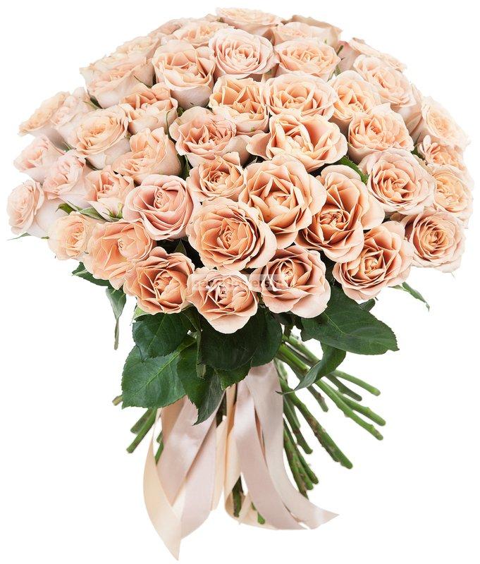 Букет из роз Капучино