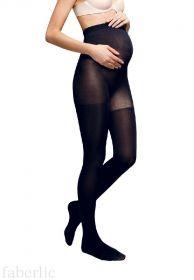 Колготки для беременных Faberlic 100 den черные