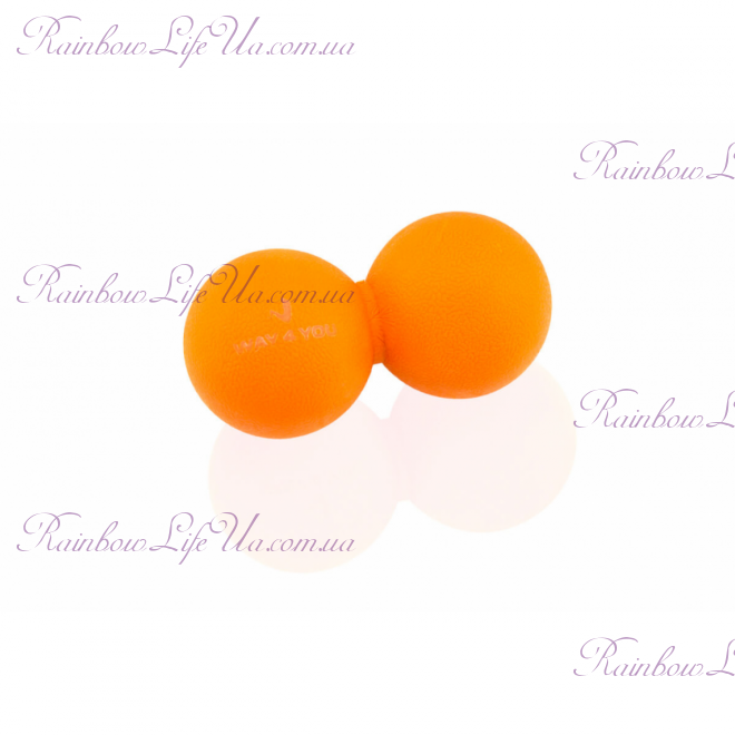 """Массажер Double Lacrosse Ball """"Way4you"""""""