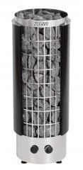 Harvia Cilindro PC70H (чёрная, со встроенным пультом)