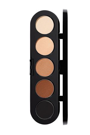 Make-Up Atelier Paris Palette Eyeshadows T03S Natural brown Палитра теней для век №3S натуральные коричневые тона