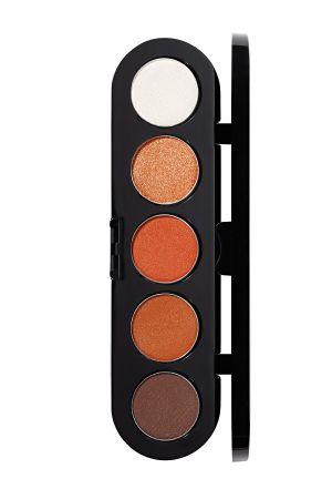 Make-Up Atelier Paris Palette Eyeshadows T15 Honey brown tones Палитра теней для век №15 золотисто-коричневые тона