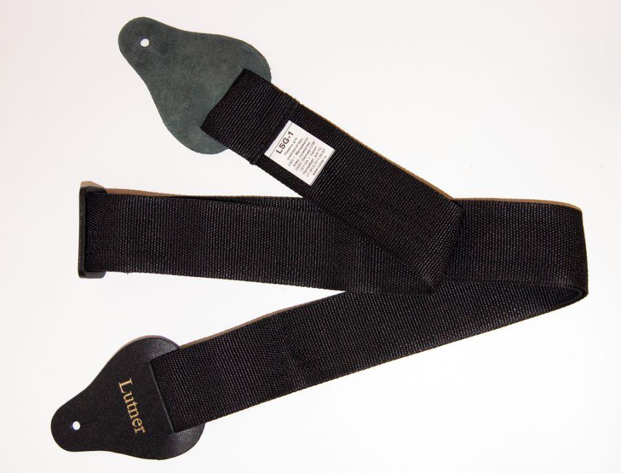 LUTNER LSG-1-BK Ремень для электрогитары, черный