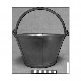 Котел Смоленский Гнездово Х век Объем 5 литров