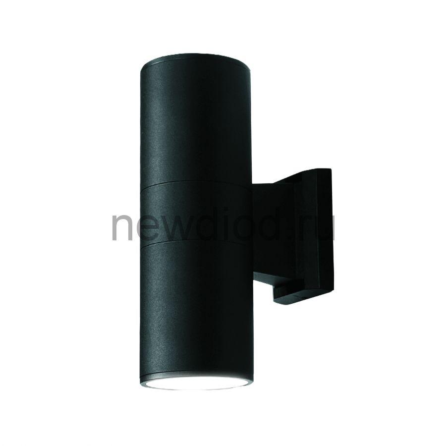 Светильник сд уличный ULU-S22B-2x3W-4000K IP65 BLACK архитектурный накладной корпус черный TM Uniel