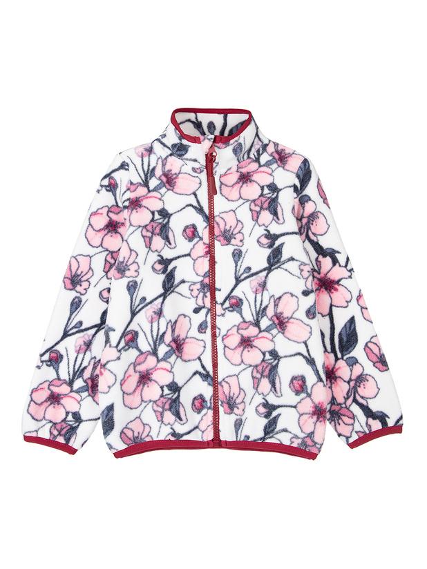 Куртка флис (кроеный трикотаж) для девочек