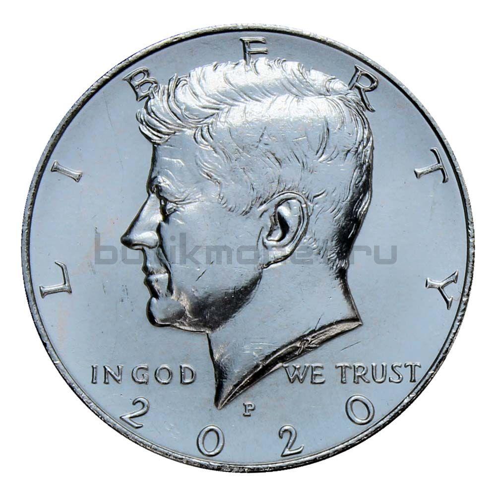 50 центов 2020 США Kennedy Half Dollar P