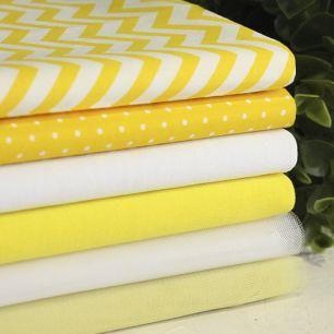 Набор тканей для пошива Лимонад