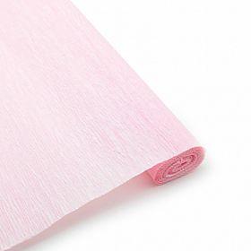 Бумага гофрированная Розовая / рулон, 0,5/2 м, Китай