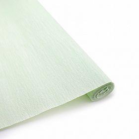 Бумага гофрированная Нежно-зелёная / рулон, 0,5/2 м, Китай