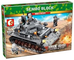 Конструктор SEMBO BLOCK German Tank IV 101322 596 дет