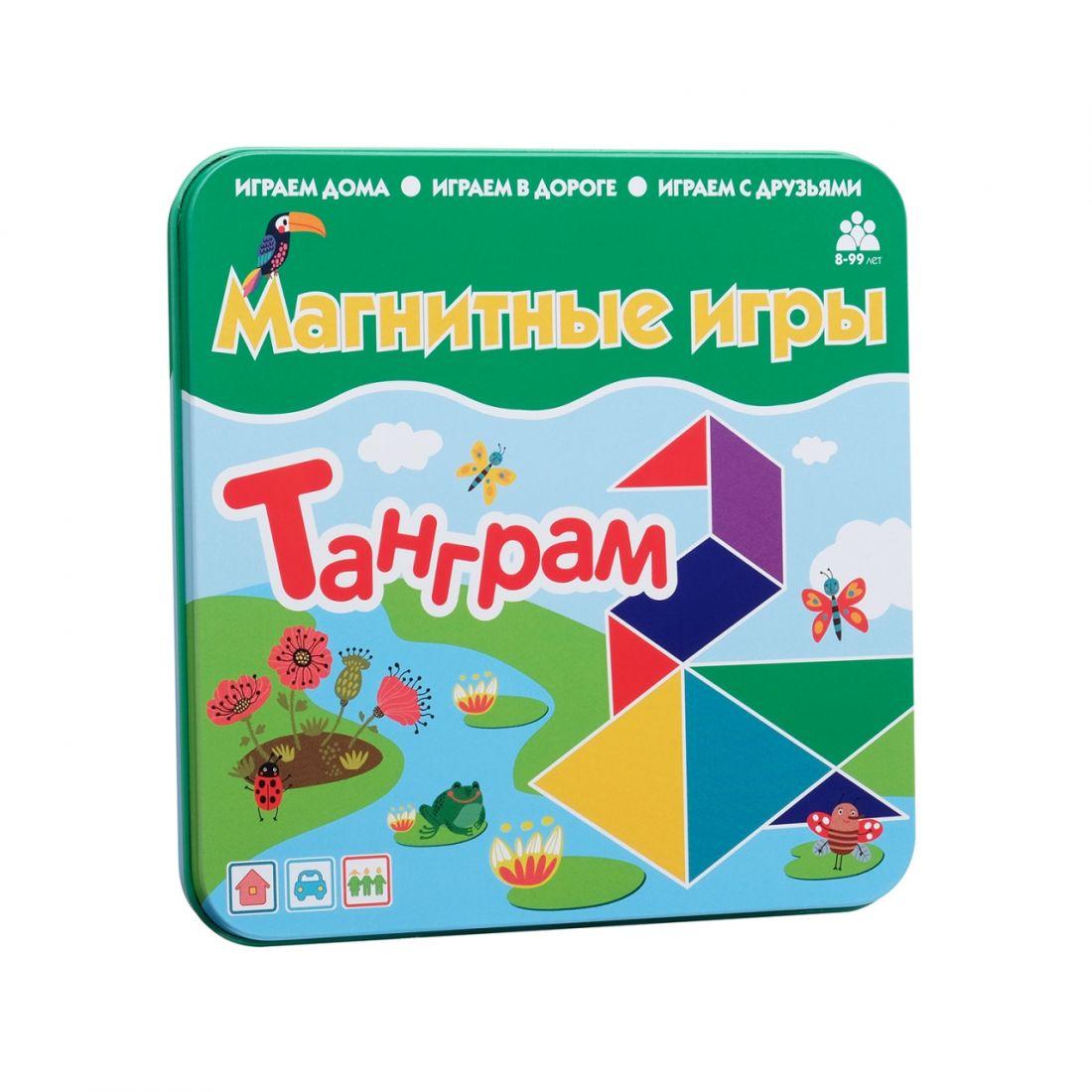 Магнитная игра БУМБАРАМ IM-1014 Танграм