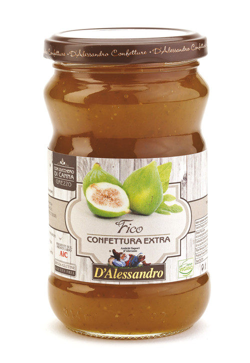 Конфитюр из инжира 360 г, Confettura di Fichi, D'Alessandro confetture 360 gr