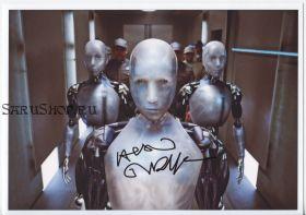 Автограф: Алан Тьюдик. Я, робот