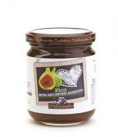 Конфитюр из инжира без сахара 230 г, Confettura di Fichi senza zucchero, D'Alessandro confetture 230 gr