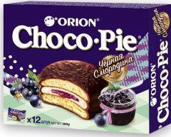 Печенье ChocoPie Чёрная смородина 12шт.