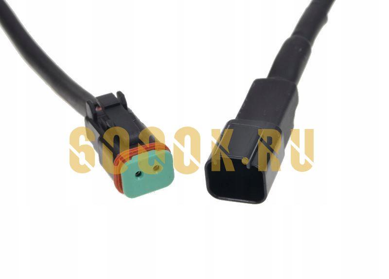 Водонепроницаемый коннектор дойч на два провода