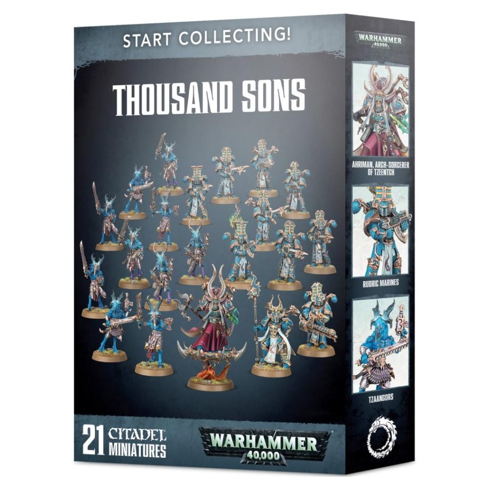 Миниатюры Warhammer 40000: Start Collecting! Thousand Sons