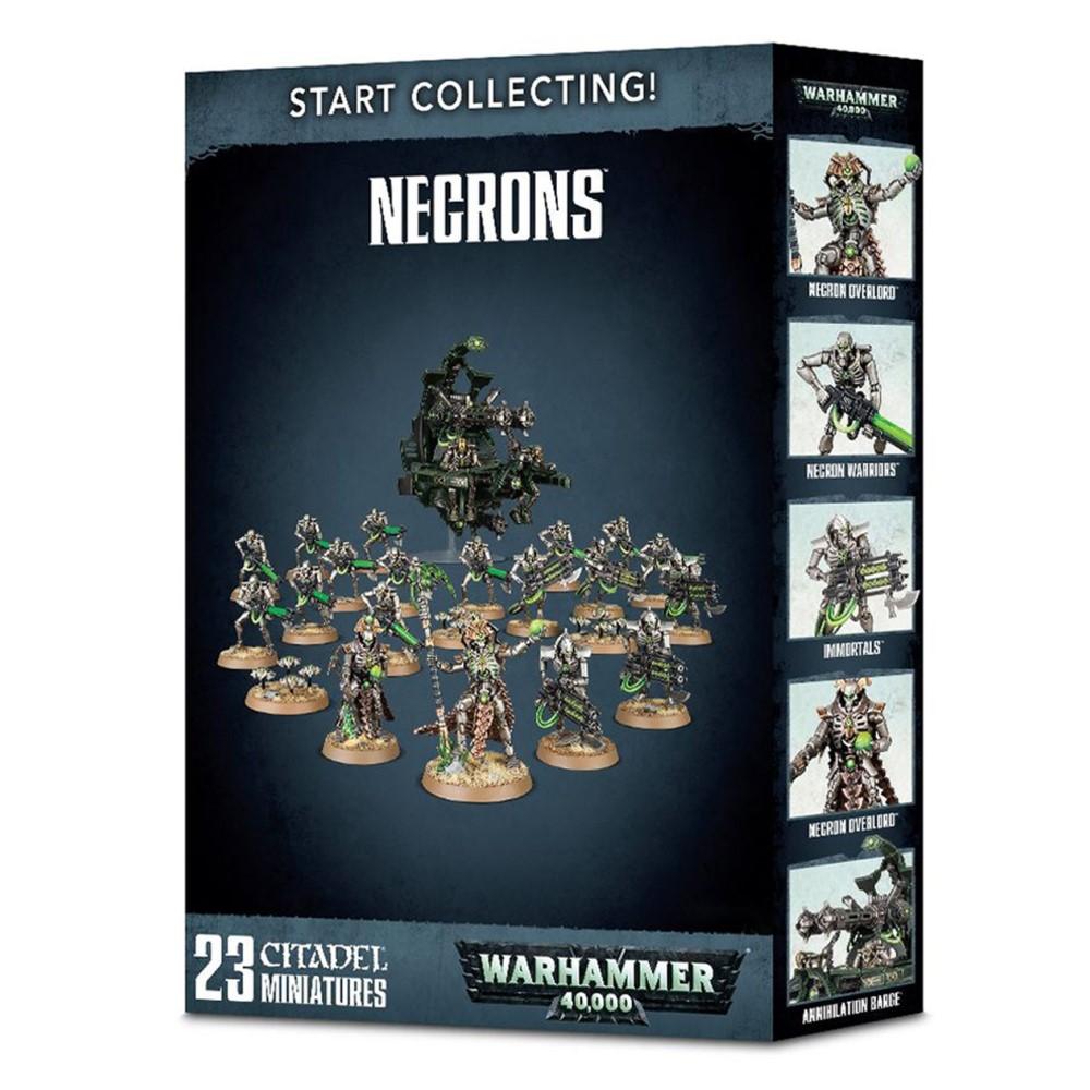 Миниатюры Warhammer 40000: Start Collecting! Necrons НОВАЯ ВЕРСИЯ