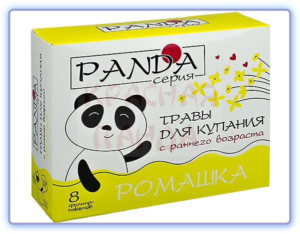 Фарм-продукт Травы для купания Панда Ромашка