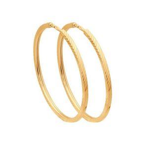 Серьги конго из золота с алмазной гранью 140046 SOKOLOV